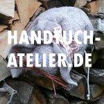 Handt�cher als Kunst